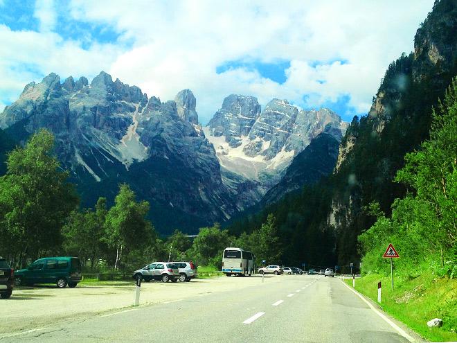 Путевые заметки по Австрии и Италии