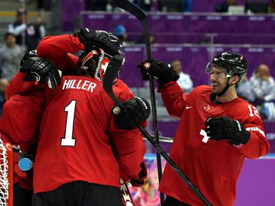 Сочи-2014. Хоккей. Швейцария — Чехия — 1:0