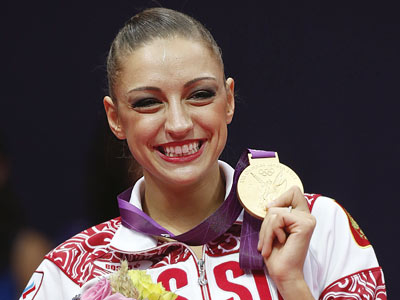 Лондон-2012. Художественная гимнастика. Евгения Канаева