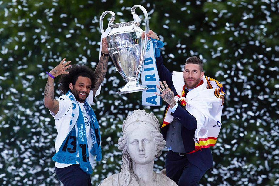 Марсело и Рамос вдвоём выиграли в «Реале» 40 трофеев