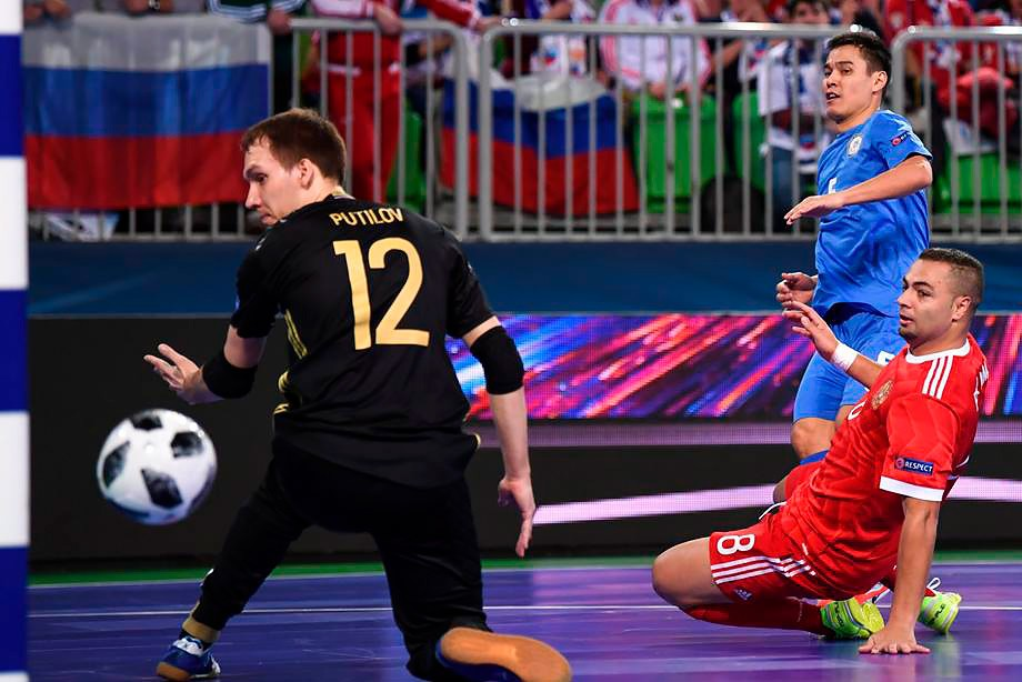 Россия — Казахстан — 1:1
