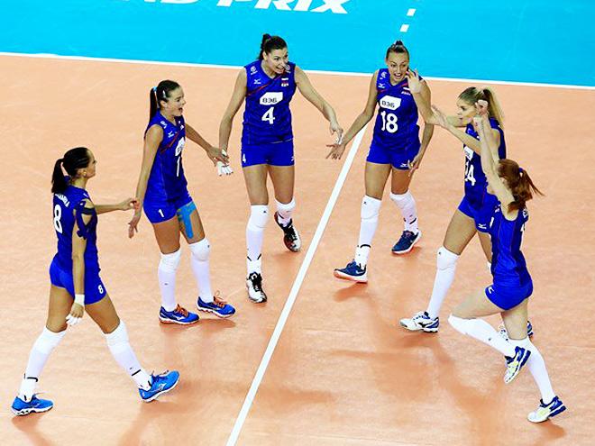 Волейбол. Женщины. Россия - Турция - 3:2