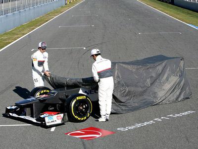«Заубер» представил свою машину на новый сезон Формулы-1