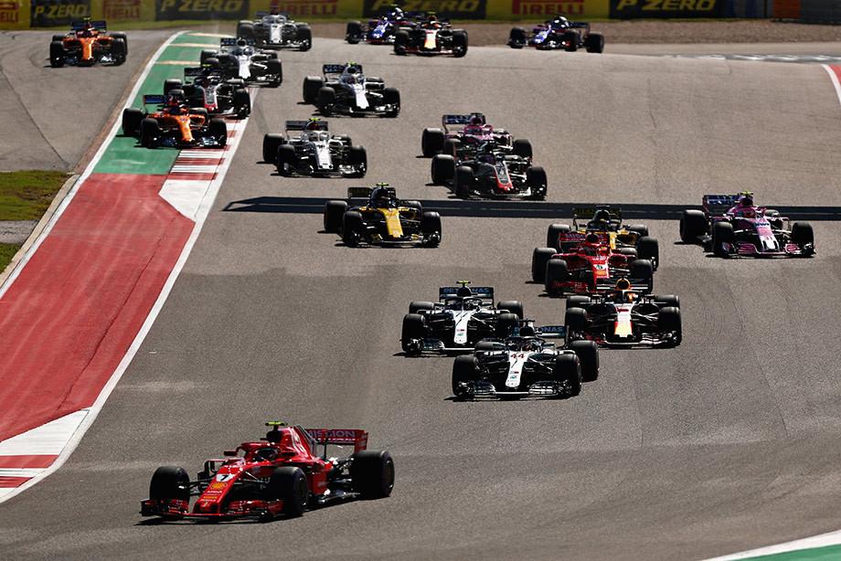 Триумф Айсмена: Райкконен выиграл Гран-при США, Льюис пока не чемпион