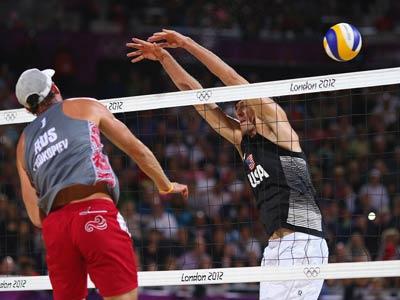 Лондон-2012. Пляжный волейбол. Сергеq Прокопьев