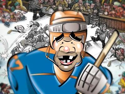 События хоккейной недели - в остром преломлении Михаила Семёнова