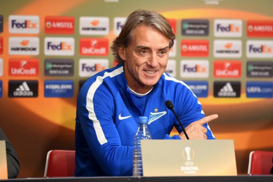 Манчини: для меня важнее Лига Европы, но «Зенит» хочет побеждать везде