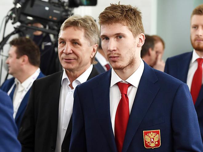 Россия и Чехия готовятся к первому матчу на ЧМ-2016