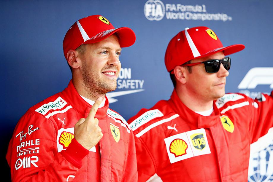 Феттель на поуле Гран-при Германии, Хэмилтон стартует 14-м из-за поломки