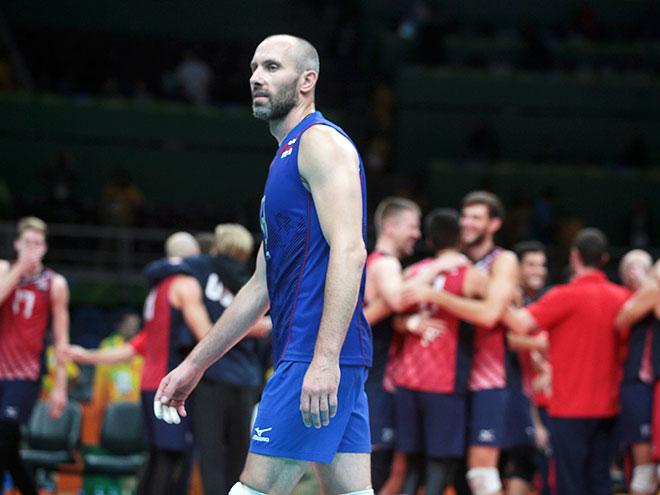 Российские волейболисты остались в Рио без наград