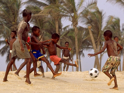 Развитие детско-юношеского футбола по-ивуарийски