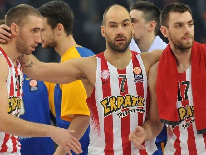 «Химки» уступили «Олимпиакосу» в Топ-16 Евролиги, Принтезис набрал 30 очков