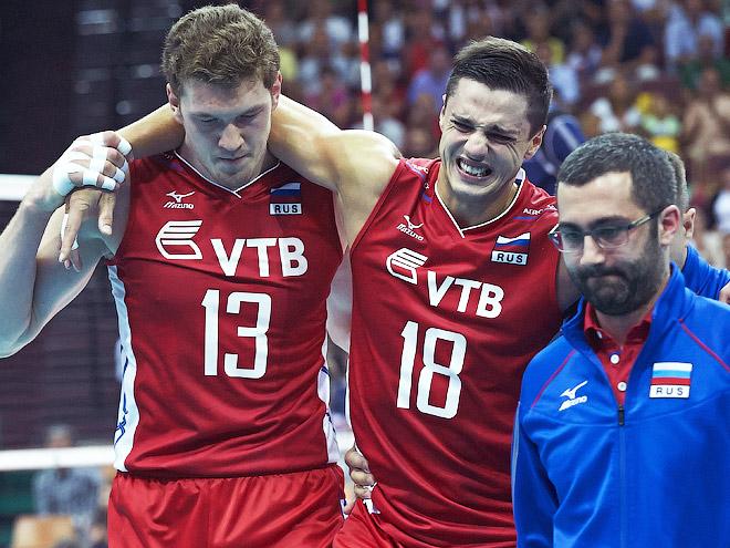 Волейбол. Чемпионат мира. Бразилия - Россия - 3:1