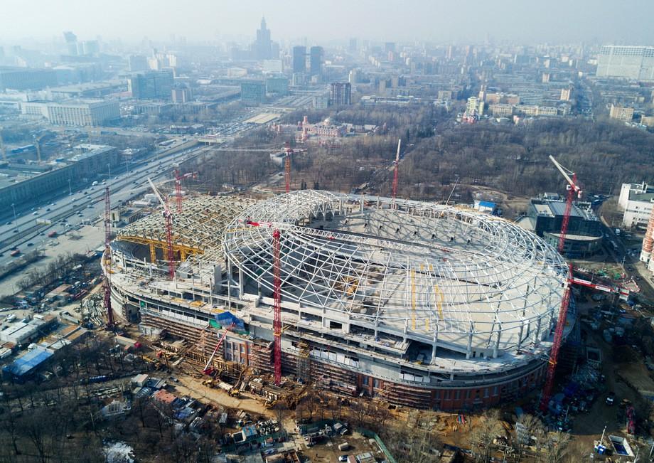 моему стадион динамо москва фото строительства проверить, колонку