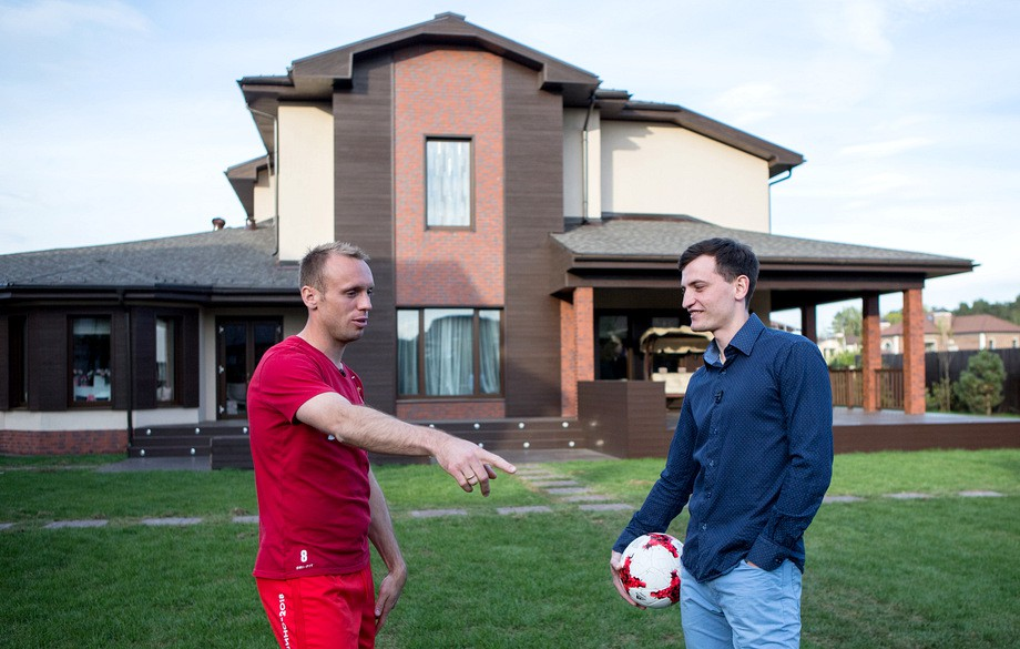 Денис Глушаков и Дмитрий Егоров