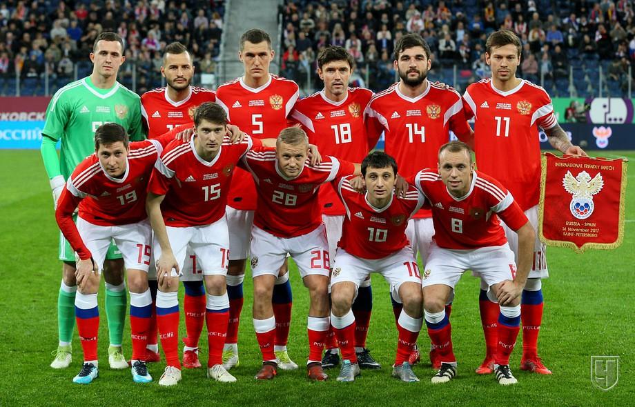 Россия сыграла вничью с Испанией (Видео)