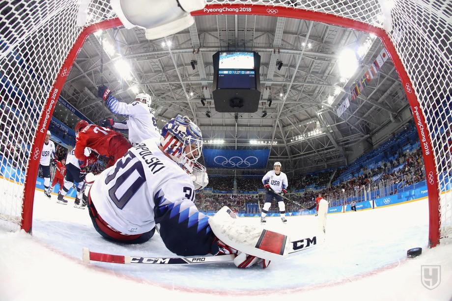 Сборная России разгромила своего соперника по группе B – сборную США со счетом 4:0