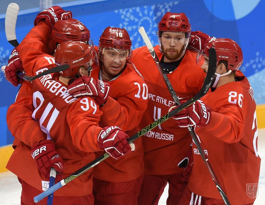 Мужская сборная России по хоккею обыграла США – 4:0 и вышла напрямую в четвертьфинал