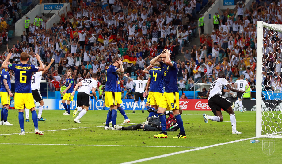 ЧМ-2018: гол Тони Крооса в ворота сборной Швеции