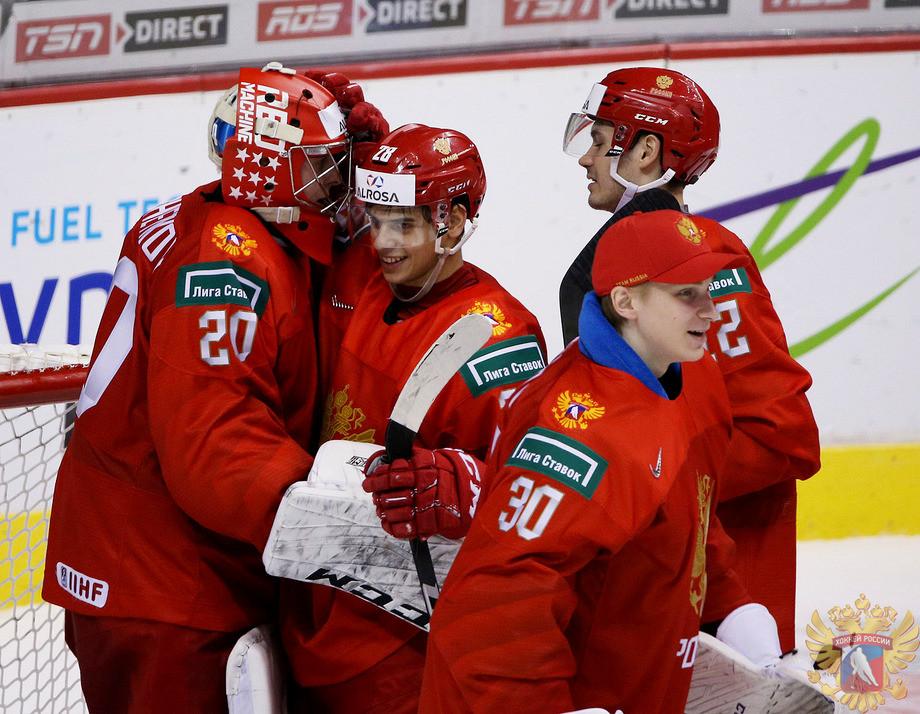 Игроки сборной России U20
