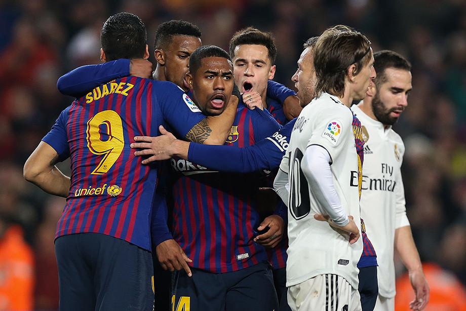 Барселона реал мадрид кубок онлайн