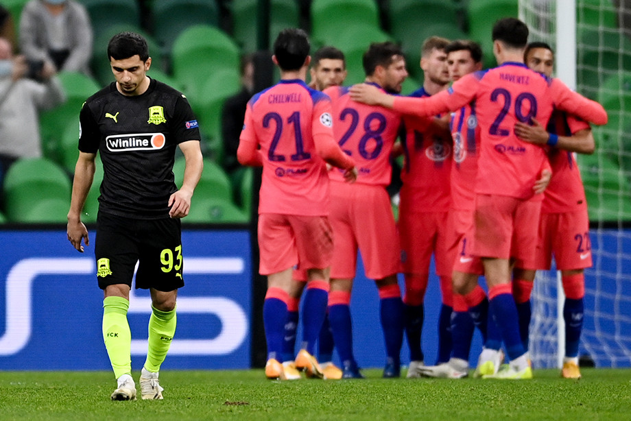 Krasnodar Chelsi 0 4 Obzor Matcha Ligi Chempionov 28 Oktyabrya 2020 Goda Chempionat