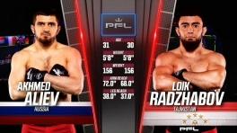 PFL 4: Раджабов на 27-й секунде нокаутировал россиянина Алиева
