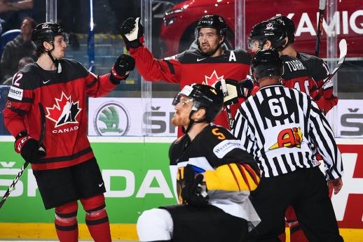 Это вам не Олимпиада. Канада показала Германии, кто тут главный