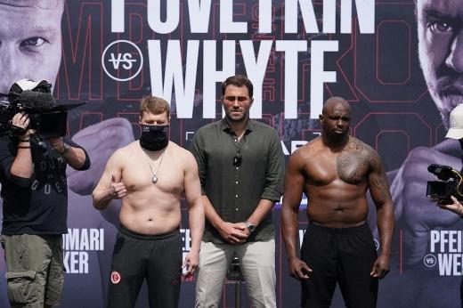 Перед матчем-реваншем Диллиан тяжелее Поветкина на 7,6 кг, вот ведь громила!