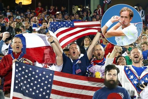 Сражение Даниила Медведева на US Open — 2019 с американскими болельщиками, россиянин заряжался их негативной энергией