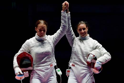 «Золото всё равно у нас». Драматичный российский финал в фехтовании на Олимпиаде в Рио