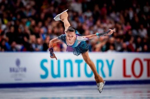 Американская фигуристка Алиса Лью вернула сложные прыжки – переходный возраст, изменения в организме, возвращение формы