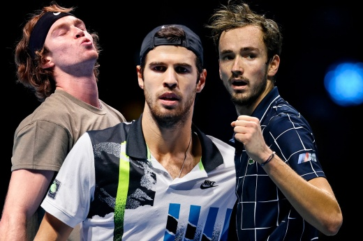 Тест. Как хорошо вы знаете российских теннисистов – Медведева, Рублёва и Хачанова?
