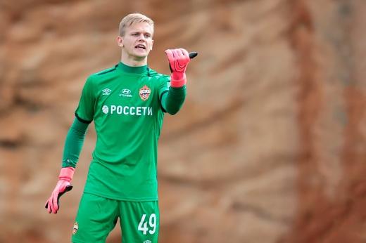 В ЦСКА дебютировал 16-летний школьник. Аналогий с Акинфеевым трудно избежать