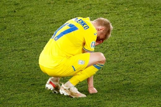 До свидания, Украина! Ты была хороша, но против такой Англии — без шансов