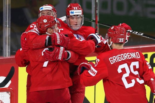 Наши разгромили соперника, за белорусов просто стыдно! Будем играть с Канадой!