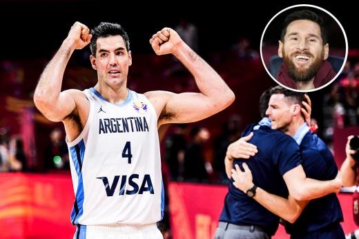 Аргентина в финале ЧМ. Месси не играл, но он в полном восторге!