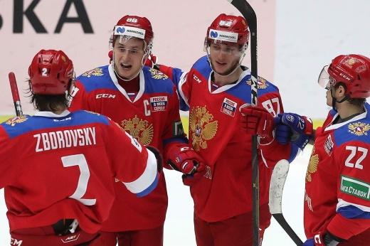 Россия непобедима в любом составе! Седьмую победу на Евротуре нарисовали новые герои КХЛ