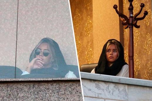 В Иране жену футболиста прогнали с VIP-трибуны. Ей пришлось прятаться в офисе