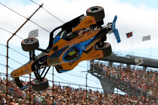 Из ревности. Чемпион IndyCar намеренно выбил Норриса из онлайн-гонки и вызвал скандал