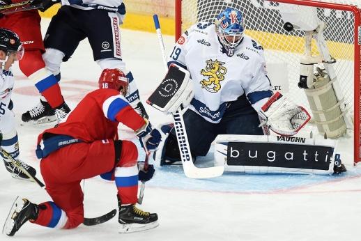 Россия проиграла финнам на олимпийском Евротуре. Как это было