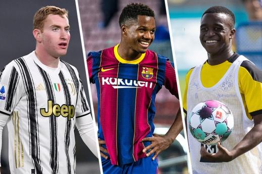 Главные звёзды молодёжного чемпионата Европы по футболу: Камавинжа, Хадсон-Одои, Кунде, Джонс, Тонали, Иконе, Кукурелья