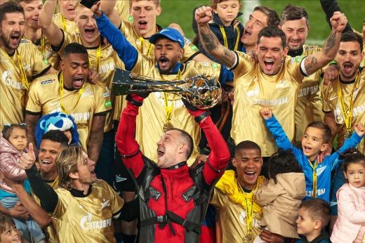 7 фактов о чемпионском «Зените», подчёркивающих его доминирование в РПЛ