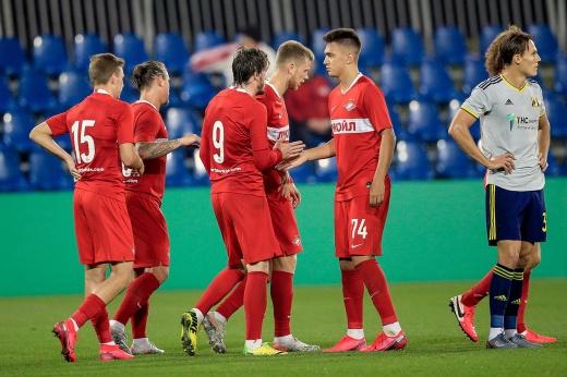 Тедеско взял реванш у Карпина. «Спартак» лихо провёл первый матч в году
