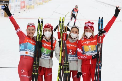 Россия вырвала медаль в эстафете на чемпионате мира. Это была головокружительная гонка!