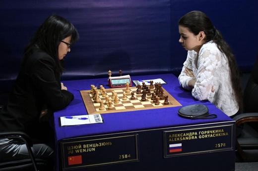 Победа была так близка… Как россиянка Горячкина проиграла финал ЧМ по шахматам. Видео