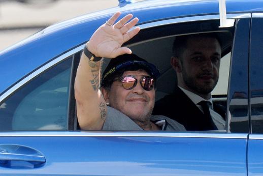 Марадона сбежал из Беларуси. В наркостолицу Мексики