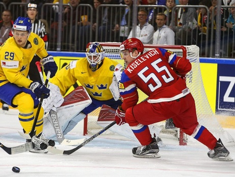 Россия обыграла шведов 2:1 Б (1:0) в первом матче на ЧМ-2017! Как это было