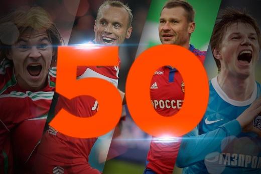 50 лучших матчей в истории футбольного чемпионата России. Места с 30-го по 21-е