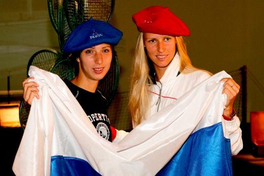 Российские финалы на «Ролан Гаррос». Как выглядели наши красавицы в момент триумфа